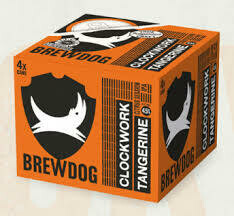 BREWDOG - CLOCKWORK TANGERINE 4PK X 330ML CAN