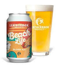 LEATHERBACK BEACH LIFE BLONDE ALE 4.5% 330ml