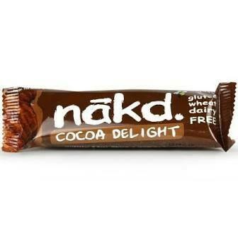 NAKD BAR COCOA DELIGHT GLUTEN FREE 35G