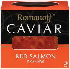 ROMANOFF CAVIAR RED SALMON