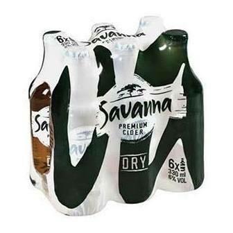 SAVANNA DRY - 6 PACK