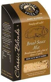 SHROPSHIRE BREAD SAUCE