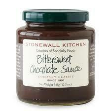 STONEWALL - BITTERSWEET CHOCOLATE SAUCE 12.5OZ