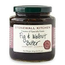 STONEWALL - FIG AND WALNUT BUTTER 12.75oz