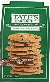 TATES BAKE SHOP CHOCOLATE CHIP COOKIES 7OZ EA