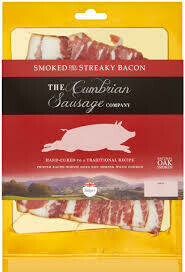THE CUMBRIAN SMOKED  STREAKY BACON