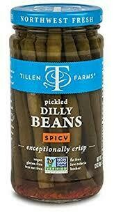TILLEN FARMS PICKLED ASPARAGUS SPICY 12 OZ