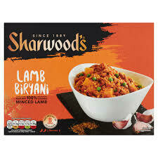 SHARWOOD LAMB BIRYANI 375G