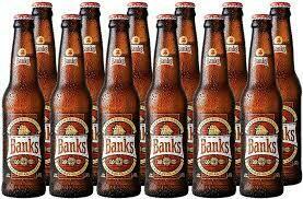 BANKS CARIBBEAN LAGER NRB CS