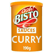 BISTO CURRY SAUCE GRANULES  190G