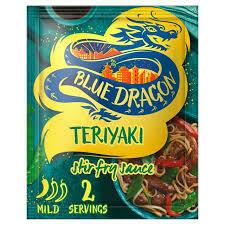 BLUE DRAGON HONEY TERIYAKI STIR FRY SAUCE 3.5FZ EA