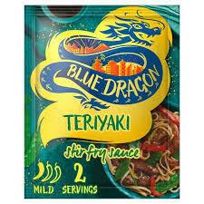 BLUE DRAGON HONEY TERIYAKI STIR FRY SAUCE 3.5FZ EA