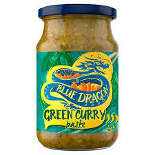 BLUE DRAGON GREEN THAI PASTE 285G