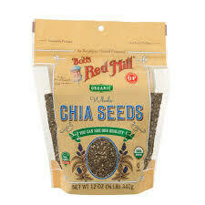 BOBS RED MILL SEEDS CHIA 12OZ EA