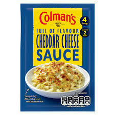 COLMANS CHEDDAR CHEESE POUR-OVER SAUCE