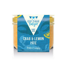 COTTAGE DELIGHT CRAB & LEMON PATE 180G