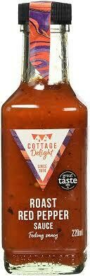COTTAGE DELIGHT ROASTED RED PEPPER SAUCE 220ML