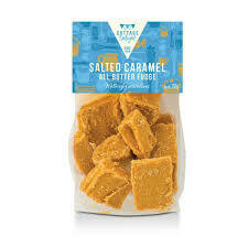 COTTAGE DELIGHT SALTED CARAMEL ALL BUTTER FUDGE 150G