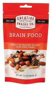 CREATIVE SNACKS BRAIN FOOD BAG