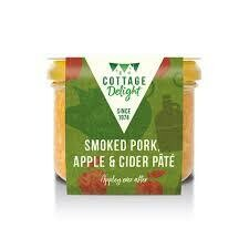 COTTAGE DELIGHT SMOKED PORK, APPLE & CIDER PATE 180G