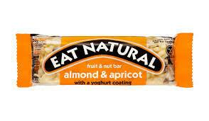 EAT NATURAL - ALMOND APRICOT YOGHURT GF 45G