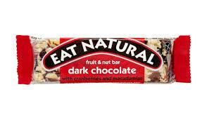 EAT NATURAL  DARK CRAN/MACADAMIA GF 45G
