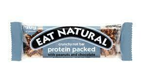 EAT NATURAL - PEANUT & CHOC 45G