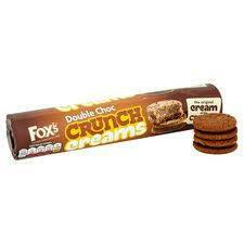 FOXS DOUBLE CHOCOLATE CRUNCH CREAM 230G