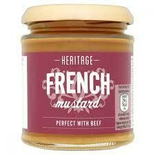 HERITAGE FRENCH MUSTARD 185G
