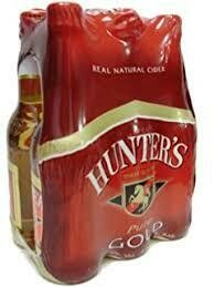 HUNTERS GOLD NRB 330ML X 6PK