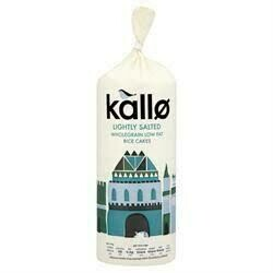 KALLO THICK RICE CAKE LOW FAT 130G