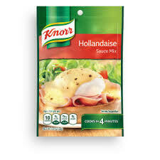 KNORR HOLLANDAISE SAUCE MIX 0.9OZ EA