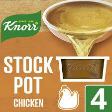 KNORR STOCK POT CHICKEN 4X28G