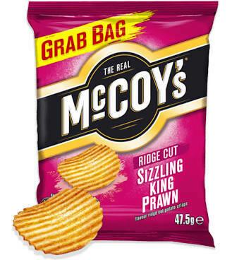 MCCOYS SIZZLING KING PRAWN 47.5G
