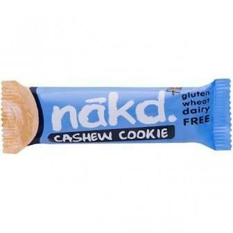 NAKD CASHEW COOKIE F&N GLUTEN FREE 35G