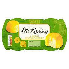 MR KIPLING LEMON SPONGE PUDDING 95G