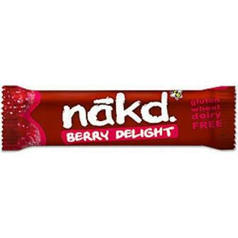NAKD BAR BERRY FRT&NUT GLUTEN FREE 35G