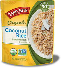 TASTY BITE RICE COCONUT OG2 8.8OZ EA