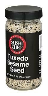 SUSHI CHEF SESAME TUXEDO SEEDS