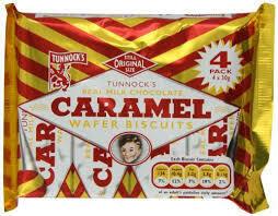 TUNNOCKS  CARAMEL 4x30g