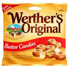 WERTHERS ORIGINAL BAG 135G