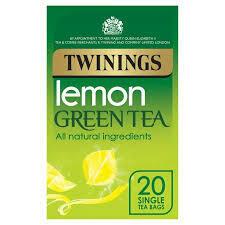 TWININGS GREEN & LEMON TEABAGS 20S