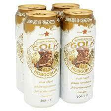 WYCHWOOD HOBGOBLIN GOLD CAN 500ML 4 PK
