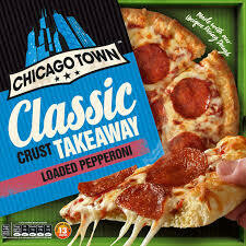 CHICAGO TOWN PEPP T/AWAY PIZZA 30CM 645G