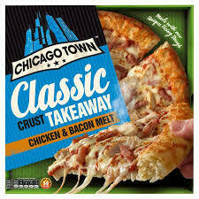 CHICAGO TOWN CHICKEN& BACON PIZZA 30CM 495G