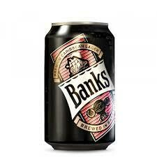 BANKS CARIBBEAN LAGER - CANS CASE