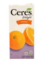 CERES 1000ML - DELIGHT ORANGE MANGO