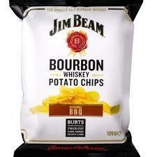 BURTS 120G - JIM BEAM BBQ