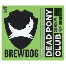 BREWDOG - DEAD PONY CLUB 330ML x 24 NRB CS