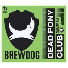 BREWDOG - DEAD PONY CLUB 330ML x 24 NRB CS